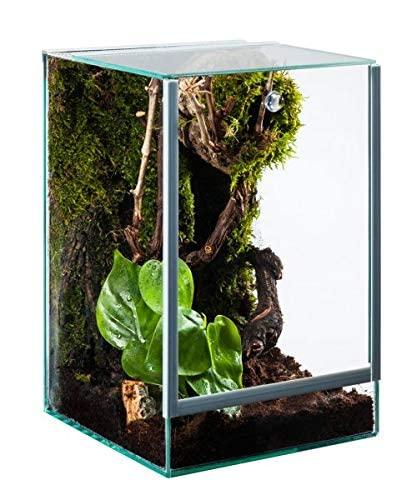 Glasterrarium 20x20x30 Falltür
