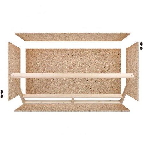 Holzterrarium aus OSB Holz - 3