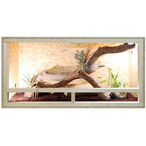 Repiterra Holzterrarium 120x60x60 Seitenbelüftet
