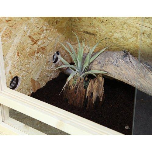 Repiterra Holzterrarium 120x60x60 Seitenbelüftet - 4