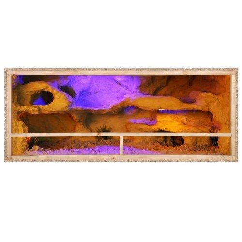 Repiterra Holzterrarium für Reptilien - hochwertiges OSB Holz