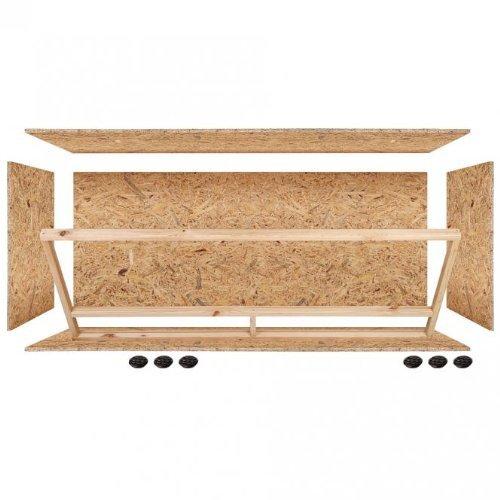 Repiterra Holzterrarium für Reptilien – hochwertiges OSB Holz - 2