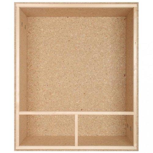 Holzterrarium Hochterrarium 100x120x60cm Seitenbelüftung - 2