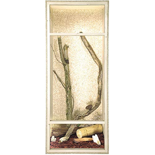 Repiterra Holzterrarium für Reptilien Seitenbelüftung 60x120x60cm