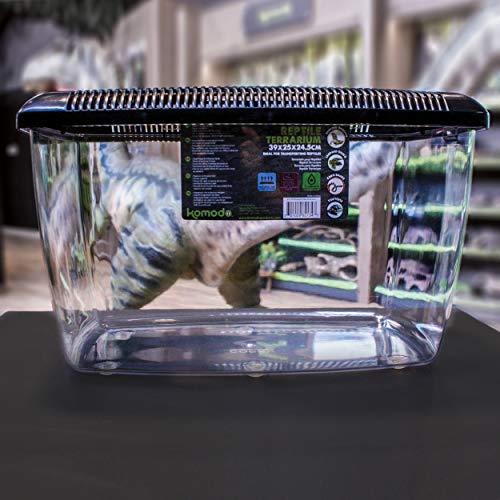 Komodo Kunststoffterrarium 39 x 25 x 24,5 cm - 5
