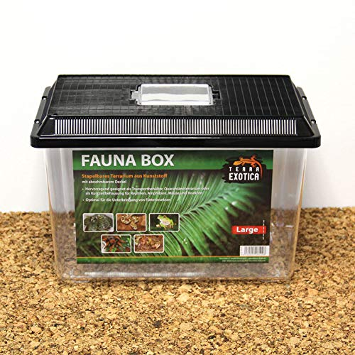 Fauna-Box 38x24x25cm, Deckel schwarz