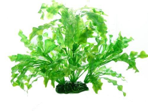 Terrarium Pflanze 2365 Grün 35cm auf Stein