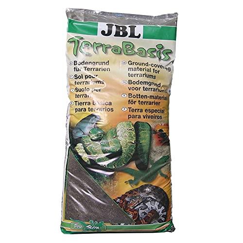 JBL 71010 Bodengrund für Regenwaldterrarien, Spezialerde ohne Düngezusatz, TerraBasis, 5 l