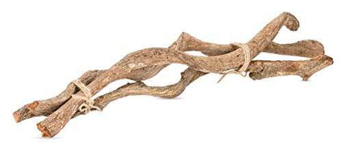 NaDeco® Lianen 3 Stück je ca. 40-50 cm | Deko Liane für Ihr Terrarium | Dekoration | Deko Wurzel