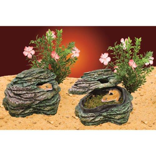 Penn Plax Felsen / Unterschlupf, Terrariums-Dekoration, kleines Modell