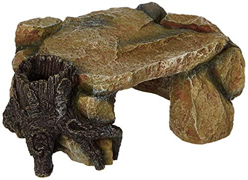 Trixie 8847 Felsplateau mit Baumstamm 25 cm