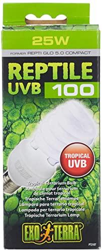 Exo Terra PT2187 Reptile UVB 100 – TROPISCHE TERRARIENLAMPE 25W, E27 - 2
