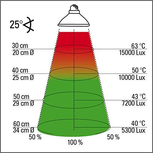 Lucky Reptile HS-75 Halogen Sun, 75 W, Wärmestrahler für E27 Fassung - 3